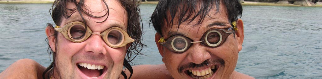 Go local style! Wooden Goggles!